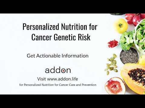 Personalized Nutrition for Cancer Genetic Risk | Get Actionable Information
