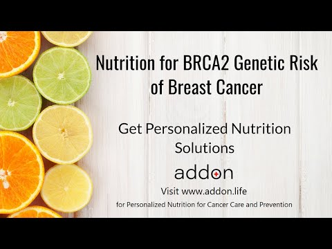Nutrition for BRCA2 Genetic Risk of Breast Cancer | Get Personalized Nutrition Solutions
