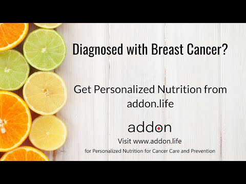 Diagnosed with Breast Cancer? Get Personalized Nutrition from addon.life